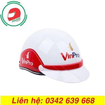 Mũ bảo hiểm quảng cáo thương hiệu VinPro