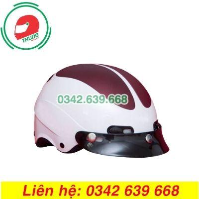 Mũ Bảo Hiểm Mỏ Rời In logo Quảng Cáo Số 7