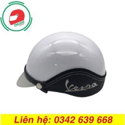 Mũ Bảo Hiểm Quảng Cáo Thương Hiệu Vespa