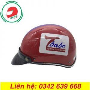 Mũ Bảo Hiểm Quảng Cáo Thương Hiệu Tbabo