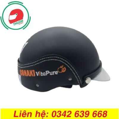 Mũ Bảo Hiểm Quảng Cáo Thương Hiệu SONAKI
