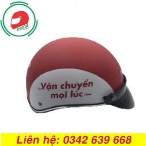 Mũ Bảo Hiểm Quảng Cáo Cho Công ty Vận Chuyển