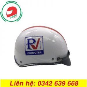 Mũ Bảo Hiểm Quảng Cáo Thương Hiệu PV