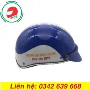 Mũ Bảo Hiểm Quảng Cáo Cho Công Ty Thắng Lợi Miền Trung đẹp