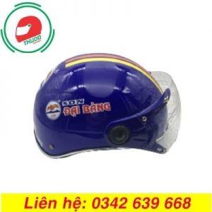Mũ bảo hiểm quảng cáo nhãn Sơn Đại Bàng cao cấp