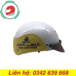Mũ Bảo Hiểm Quảng Cáo Thêu Logo Lên Mũ đẹp