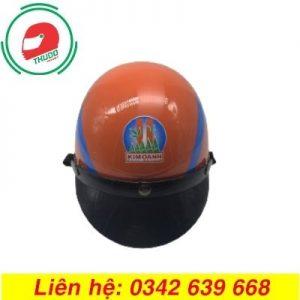 Mũ Bảo Hiểm Quảng Cáo Cho Thương Hiệu Kinh Oanh đẹp