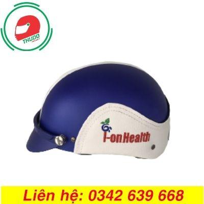 Mũ Bảo Hiểm Quảng Cáo Cho Thương Hiệu HueWACO đẹp