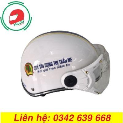Mũ Bảo Hiểm Quảng Cáo Thương Hiệu Quỹ Tín Dụng