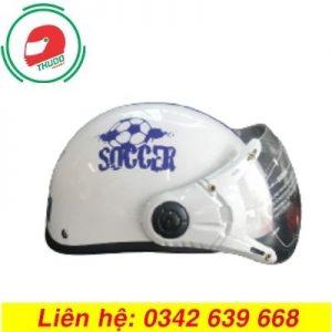 Mũ Bảo Hiểm Quảng Cáo Thương Hiệu Soccer đẹp