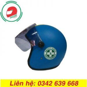 Mũ Bảo Hiểm Trùm Đầu Quảng Cáo Cho Công Ty Dầu Khí