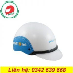 Mũ bảo hiểm quảng cáo thương hiệu Bảo Việt đẹp