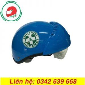Mũ Bảo Hiểm Âm Kính In Logo cao cấp