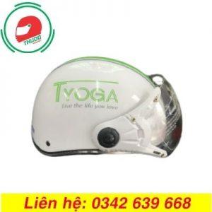 Mũ Bảo Hiểm Quảng Cáo Thương Hiệu Cho Phòng Tập YoGa cao cấp