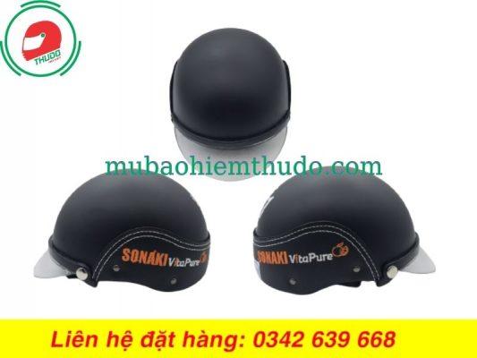 Mũ Bảo Hiểm Quảng Cáo Thương Hiệu SONAKI đẹp