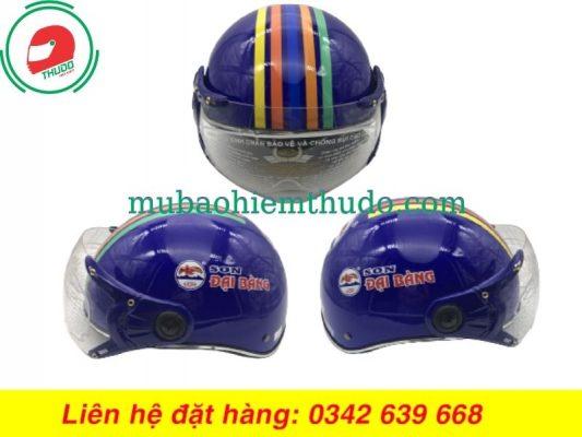 Mũ bảo hiểm quảng cáo nhãn Sơn Đại Bàng