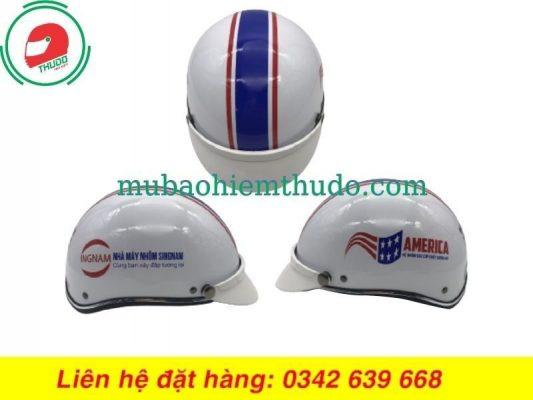 Mũ Bảo Hiểm Quảng Cáo Thương Hiệu Nhôm Singnam