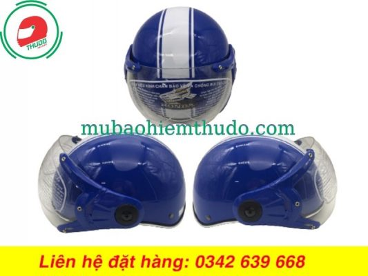 Mũ Bảo Hiểm In Logo Nhãn Hàng Honda