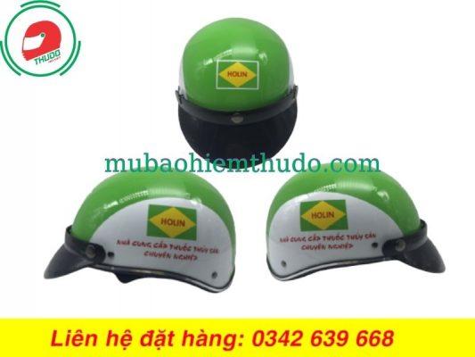 Mũ Bảo Hiểm Quảng Cáo Cho Nhà Cung Cấp Thuốc Thuỷ Sản Holin