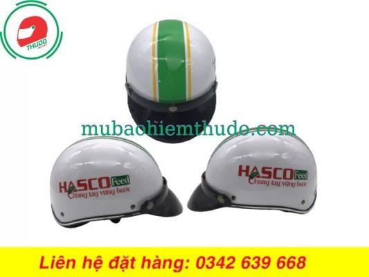 Mũ Bảo Hiểm Quảng Cáo Thương Hiệu HASCO Feed
