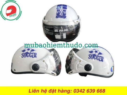 Mũ Bảo Hiểm Quảng Cáo Thương Hiệu Soccer cao cấp
