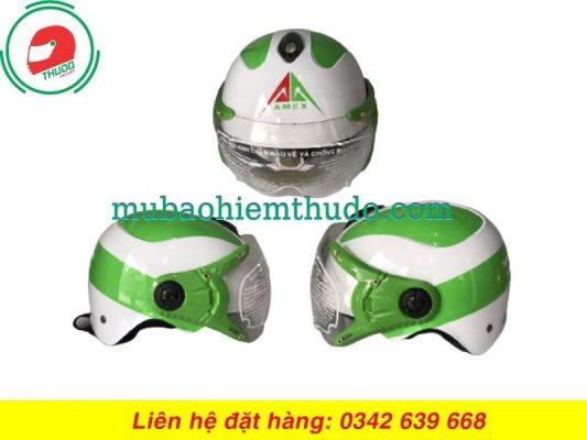Mũ bảo hiểm quảng cáo thương hiệu AMCX cao cấp
